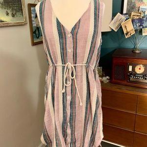 Beachy boho O'Neill button dress